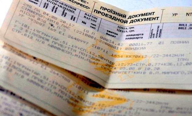Залізничні квитки